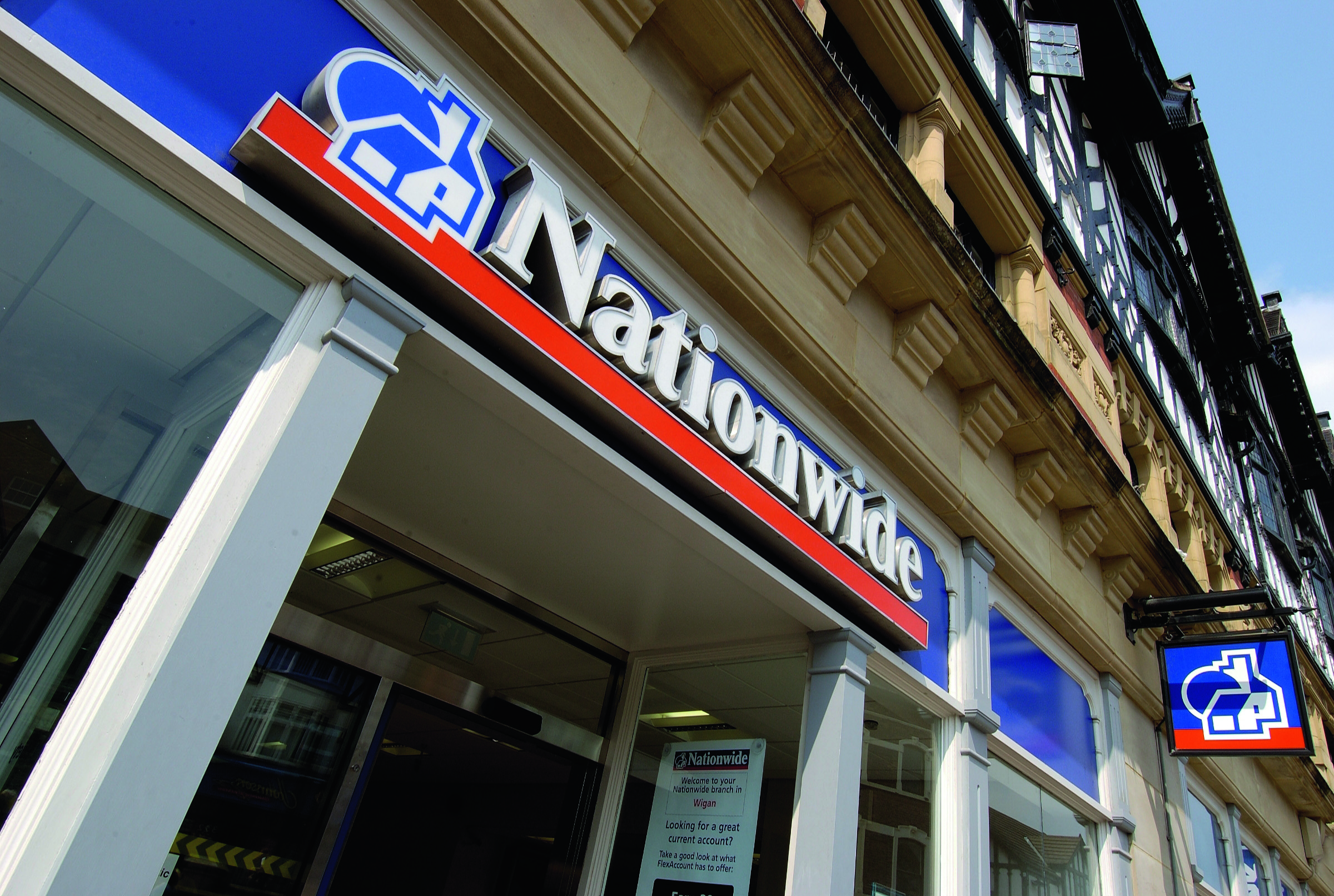 Nationwide branch front
