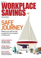 Workplace savings cover