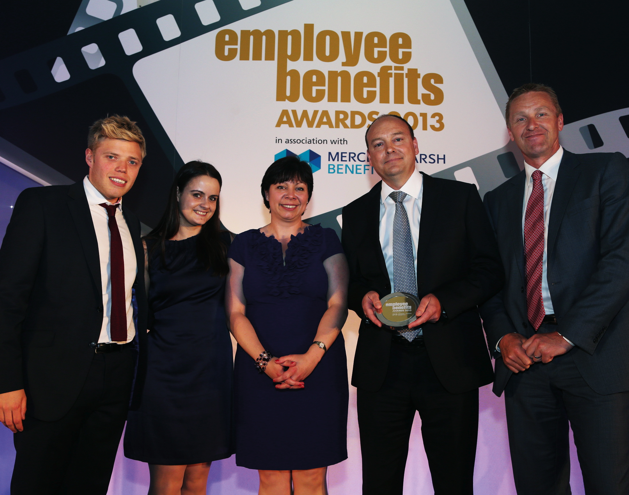 Award winners at Employee Benefits Awards 2013