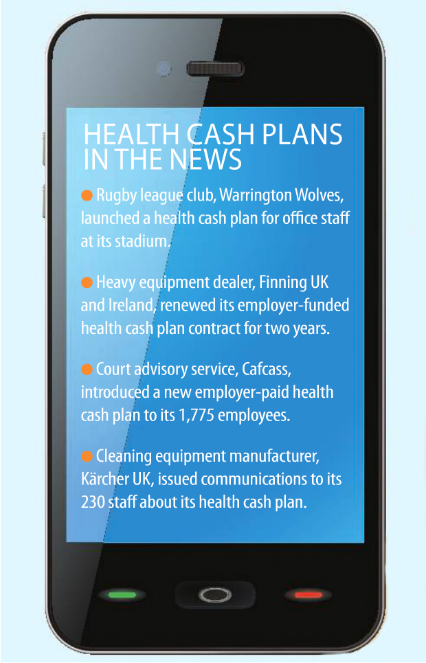 Health cash plans in the news