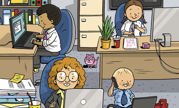 what makes an organisation a family-friendly employer