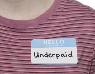 Underpaid