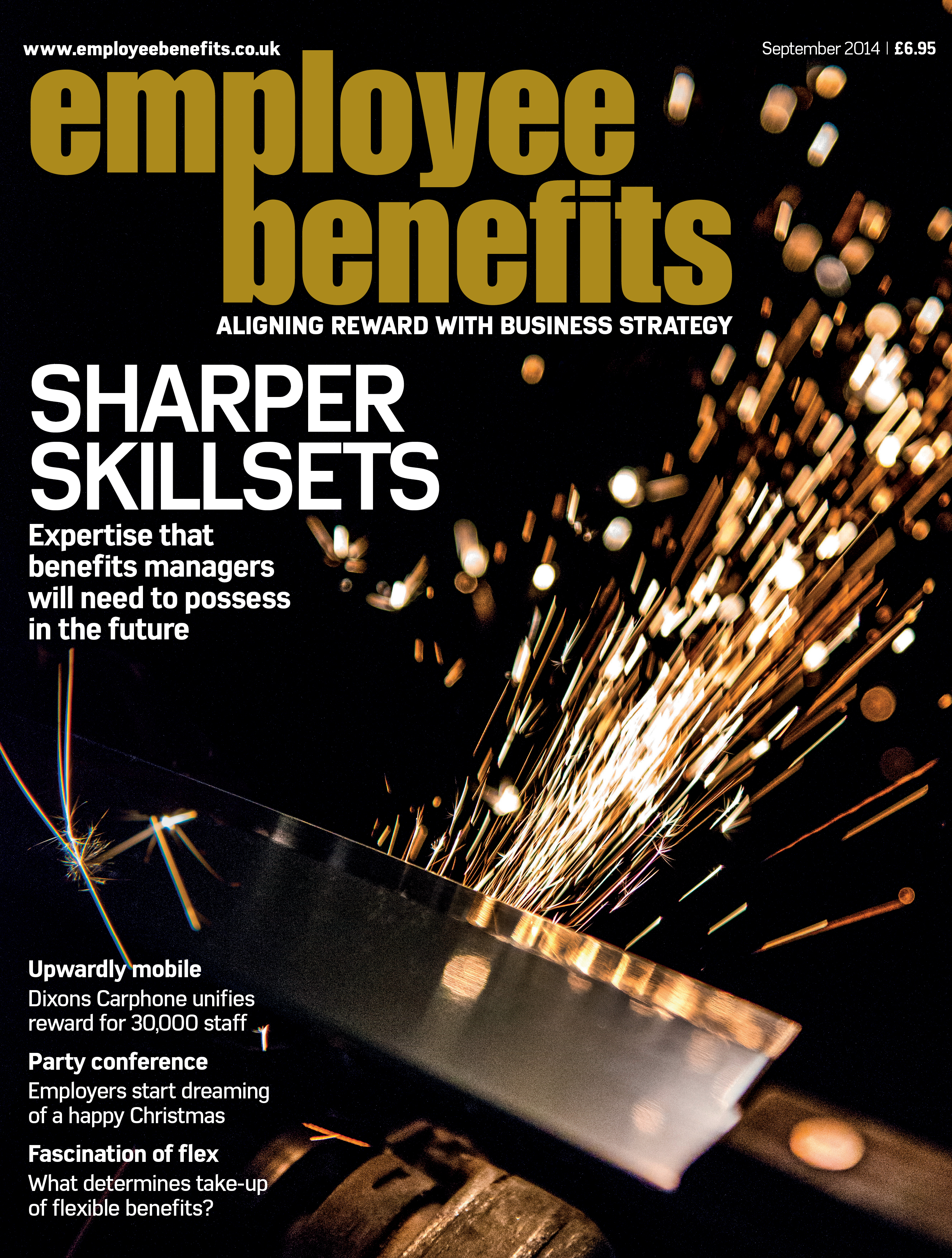 September 2014 cover Employee Benefits magazine
