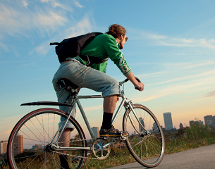 Bikes reduce staff absence