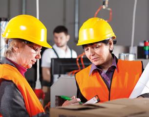 Greying workforce