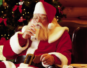 Father Christmas-Thinkstock