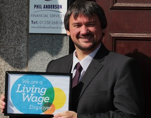 Phil Anderson-living wage-2015