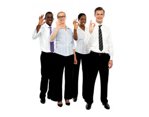 Happy employees - thumbnail