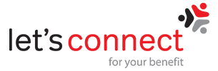 Lets connect logo