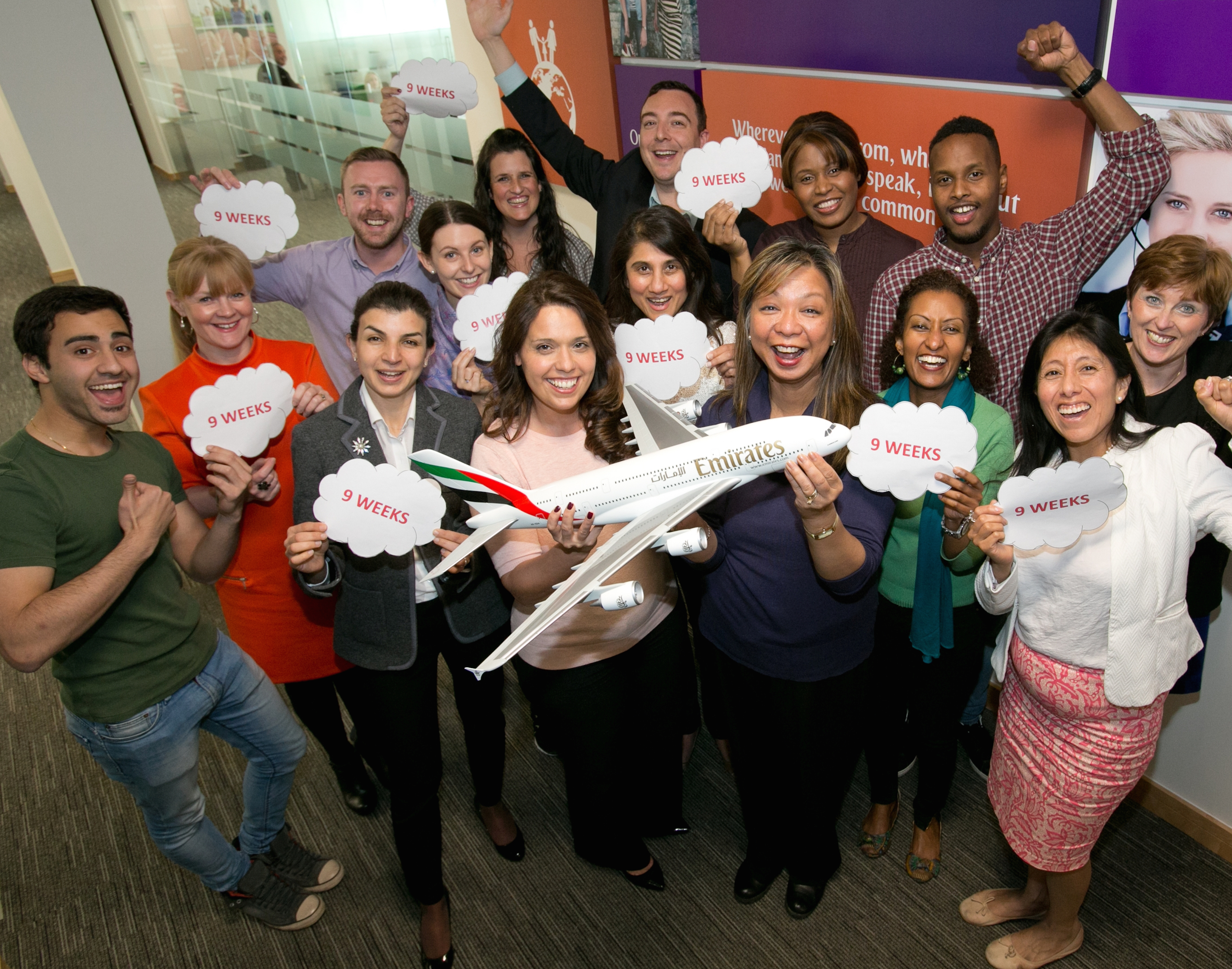 Emirates Manchester-9 week bonus
