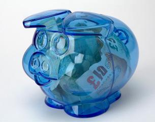 Pension piggy pot