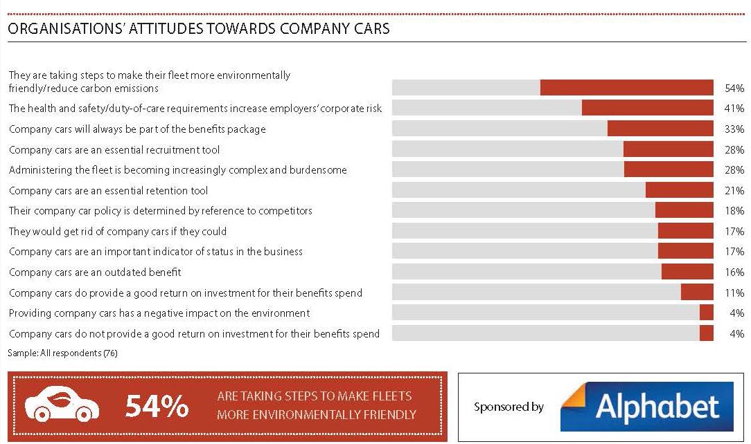 Company cars graph