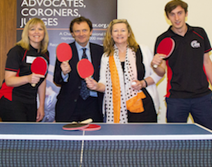 Chartered Institute of Legal Executives-table tennis wellbeing-2015