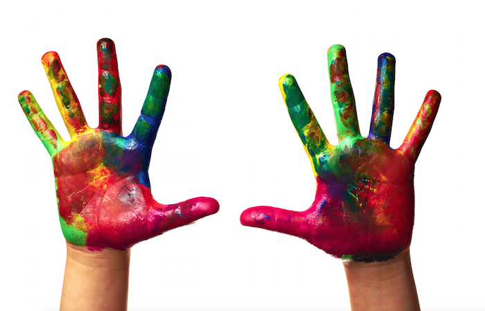 Finger painting hands-2016-SFTW
