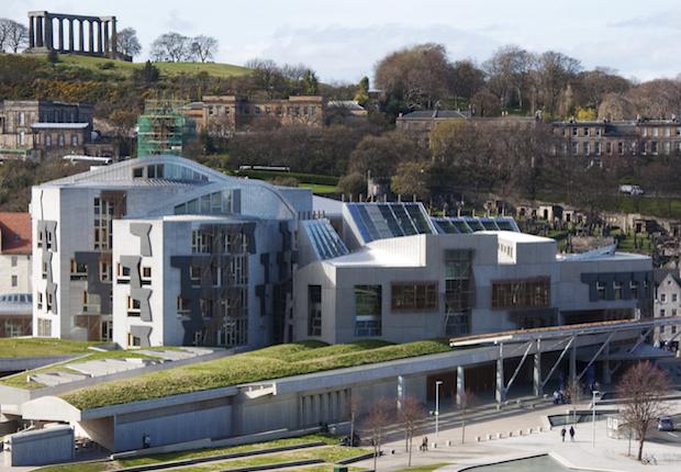 Holyrood Scottish Parliament Copyright: Eain Scott