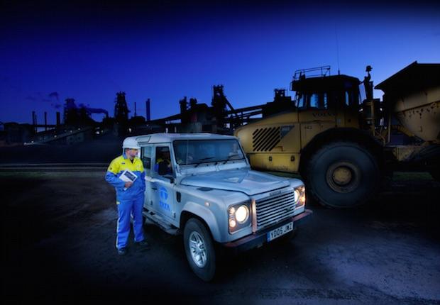 Tata Steel Scunthorpe works