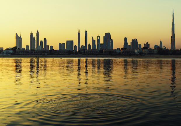 iStock Dubai skyline