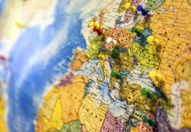 iStock Global Map International Globe World