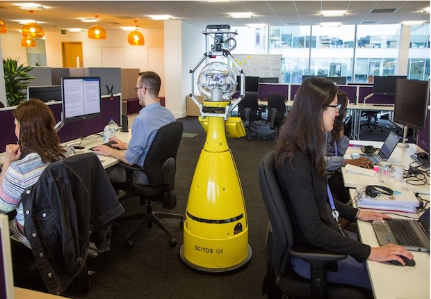 Betty the Robot: Photo credit: John James/University of Birmingham