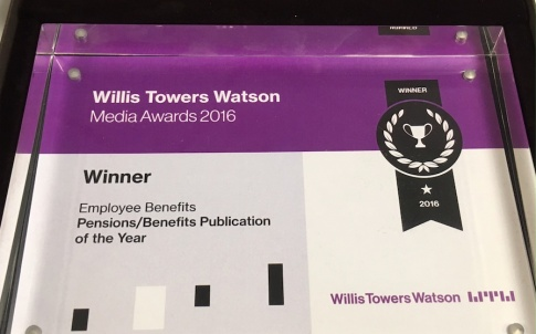 Willis Towers Watson 2016 Award