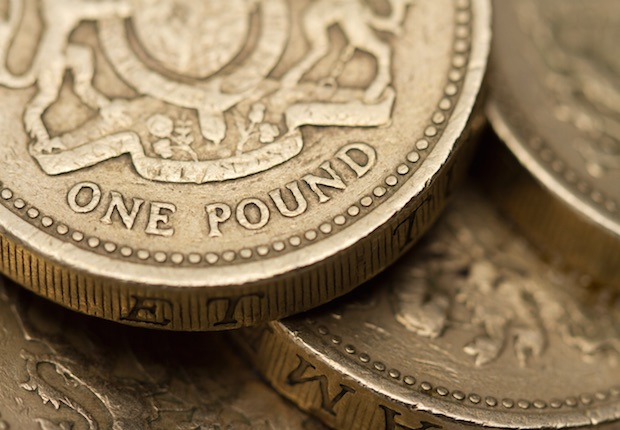 money, pound coins