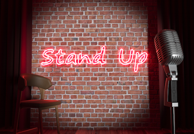 Stand-up comedy stage iStock/Trodler