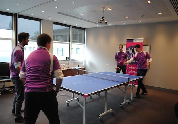 Natixis table tennis