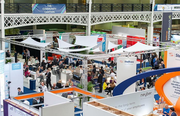 Employee Benefits Live 2016 Exhibition Hall