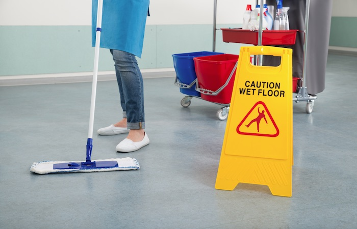 Cleaner mitie cleaning and environmental services