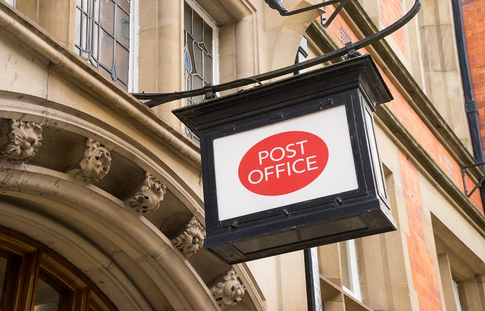 Post Office reports mean gender pay gap of 16%