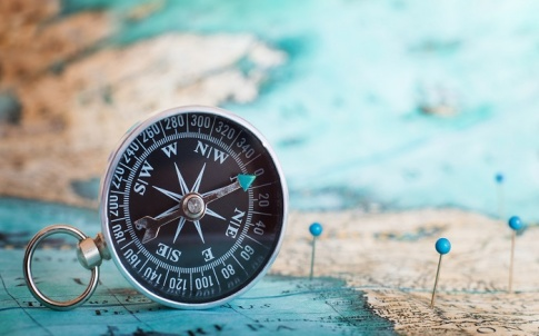 Compass, world, travel