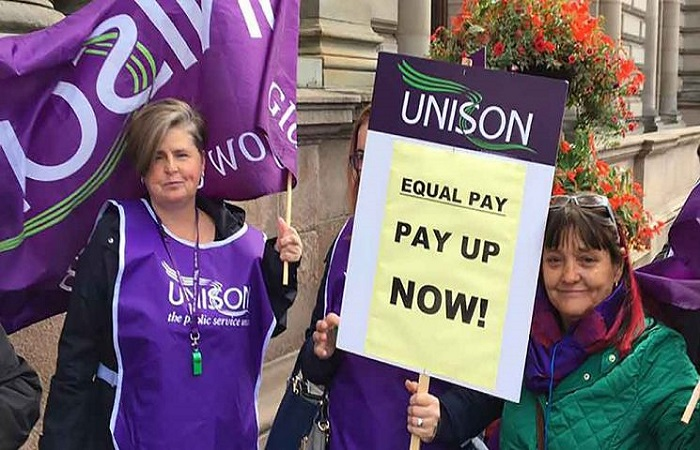 Glasgow City Council equal pay action