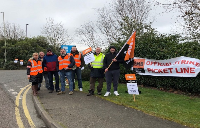 Thatcham-based Forterra staff strike in pay dispute