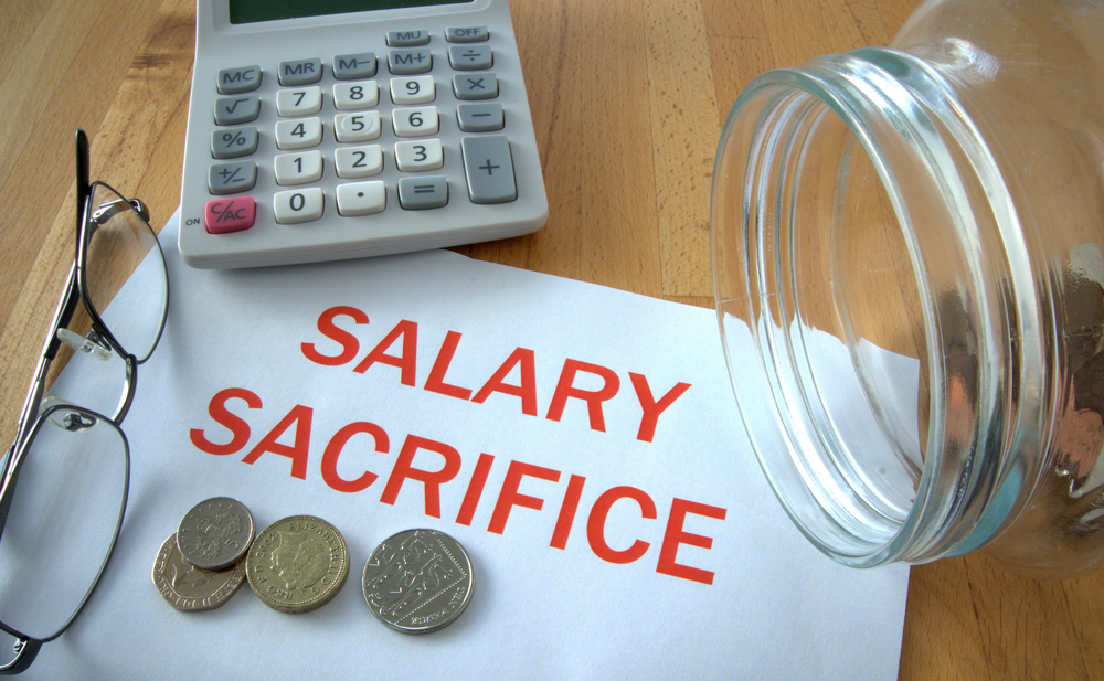 Sacrificing salary