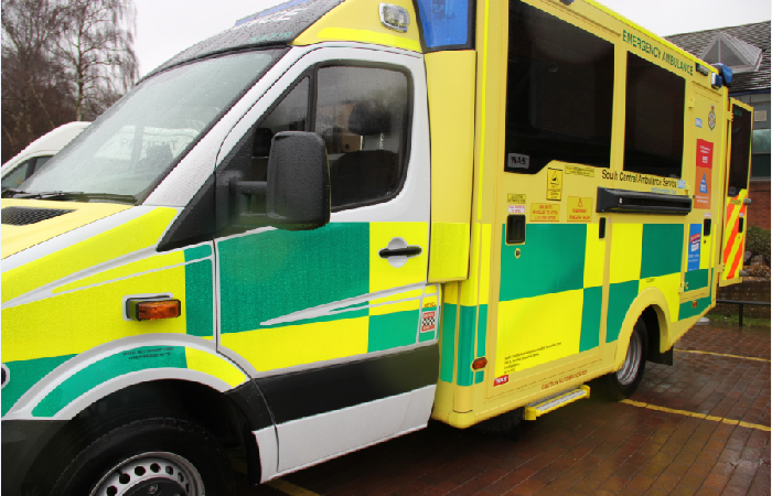Ambulance service South Central Service NHS Foundation Trust (SCAS)