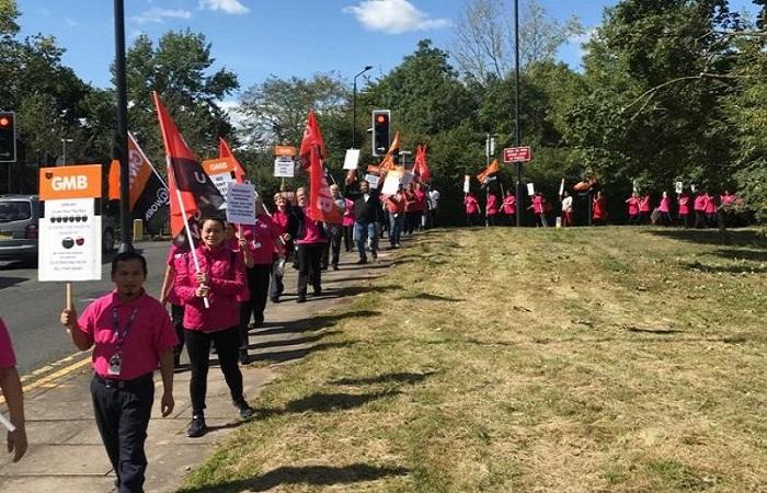 medirest northwick park protests