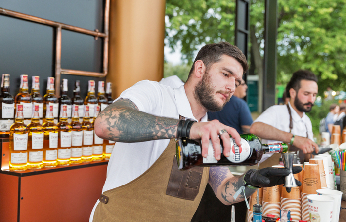 7,000 Barcadi employees across the globe spend one day visiting bars