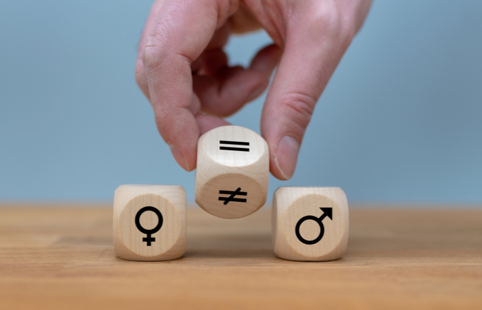 58% of organisations have a strategy for achieving gender balance