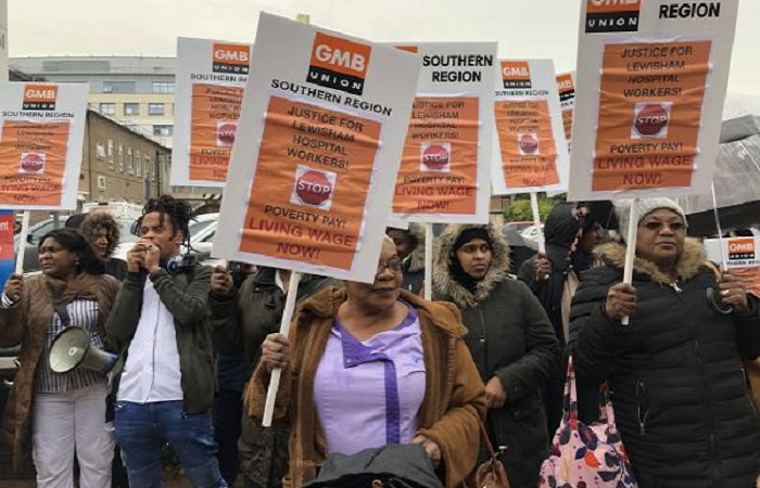Outsourced cleaners at Lewisham Hospital receive pay rise