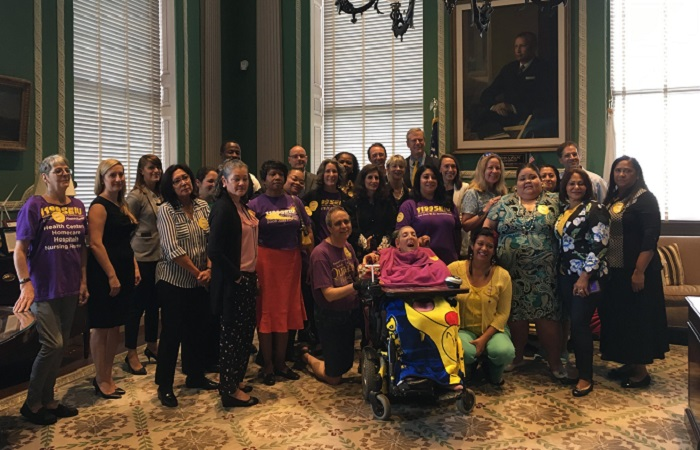 50,000 Massachusettes home care workers receive pay increase
