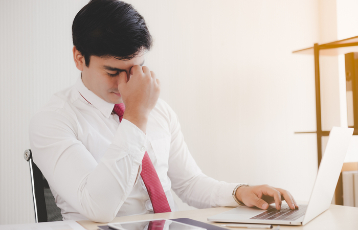 35% of employees continue to work while unwell