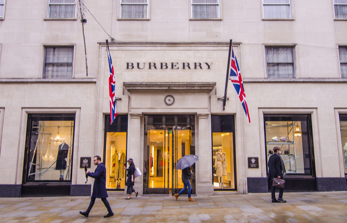 Burberry UK reports a 33.1% mean gender pay gap