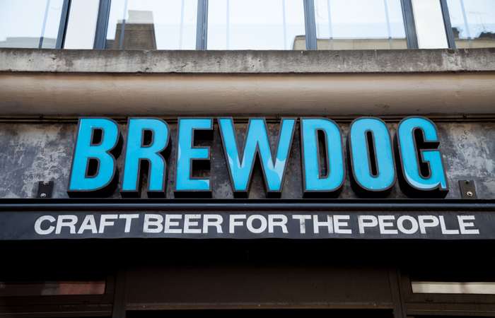 Brewdog reports mean gender pay gap of 6.3%
