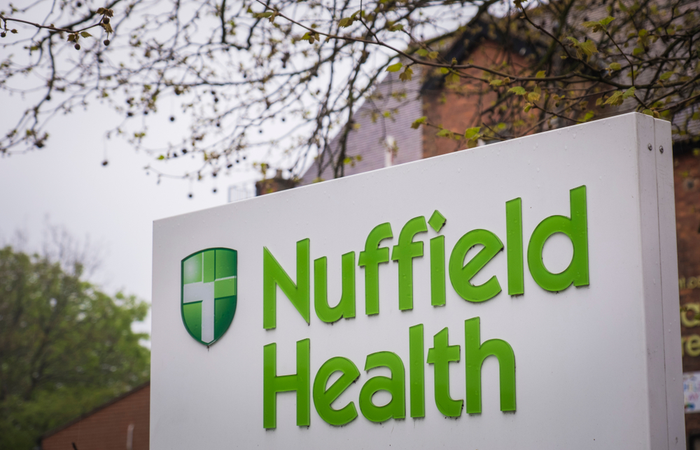 Nuffield Health reports mean gender pay gap of 4.3%