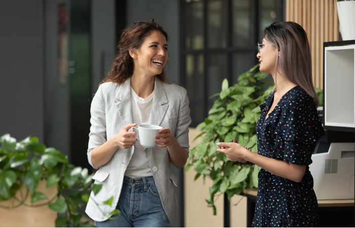 70% of employees miss office-based conversations