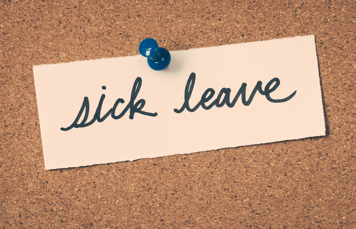 31% of employers don't offer support for staff on long-term sick leave