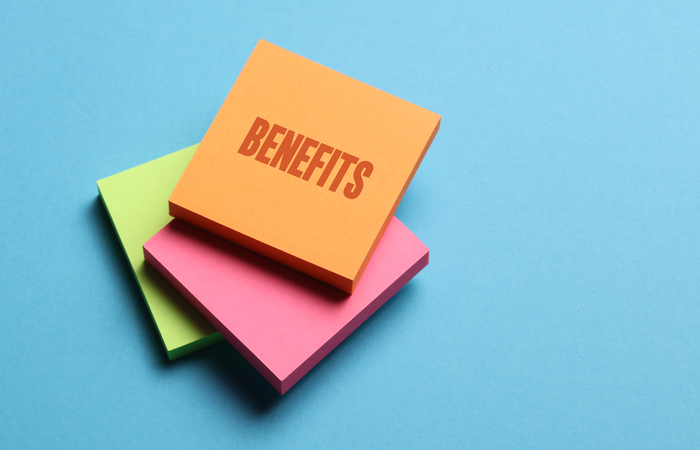 47% of businesses offer no employee benefits