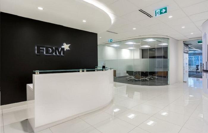 FDM reports median gender pay gap of -2.1%