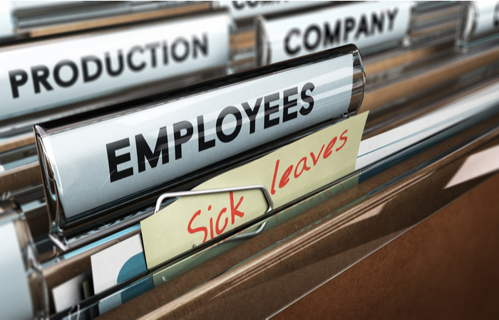76% of organisations measure sickness absence levels