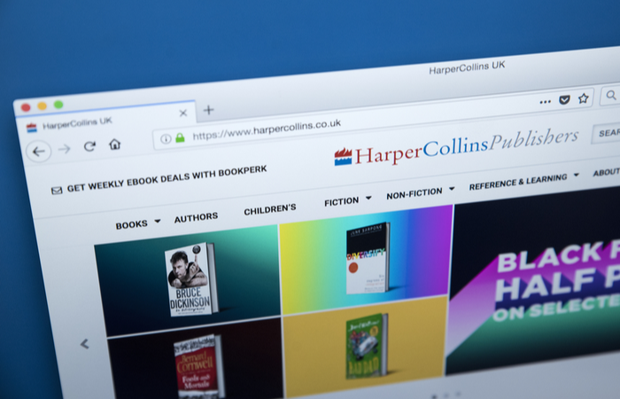 HarperCollins reports 15.3% mean gender pay gap